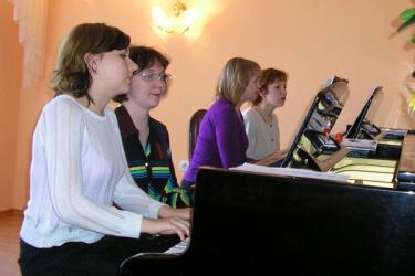 Фортепианный квартет   Т.В.Вахрамова   Г.Х.Хасанова   Н.А.Военушкина  И.Ф.Хуснутдинова