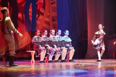 Танец американских шотландцев